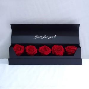 Κασετίνα με κόκκινα forever rose