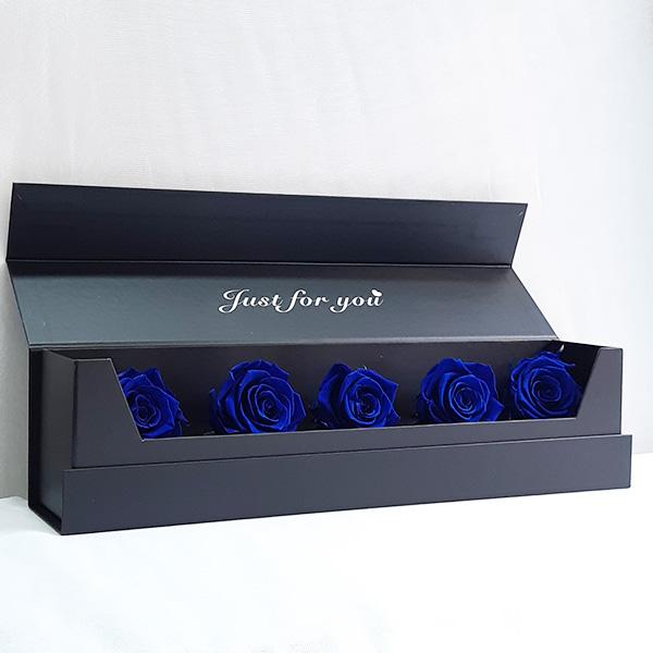 Κασετίνα με μπλε forever rose