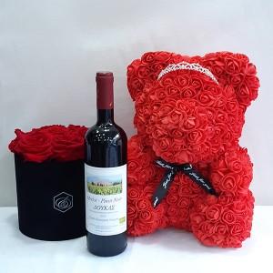 Κρασί με forever rose gold