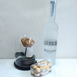 Forever rose gold, Belvedere & σοκολατάκια