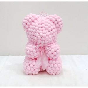 Μικρό ροζ pom pom E-Shop