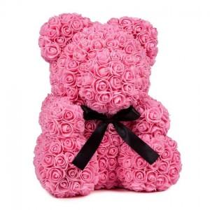 Μικρό ροζ Rose Bear