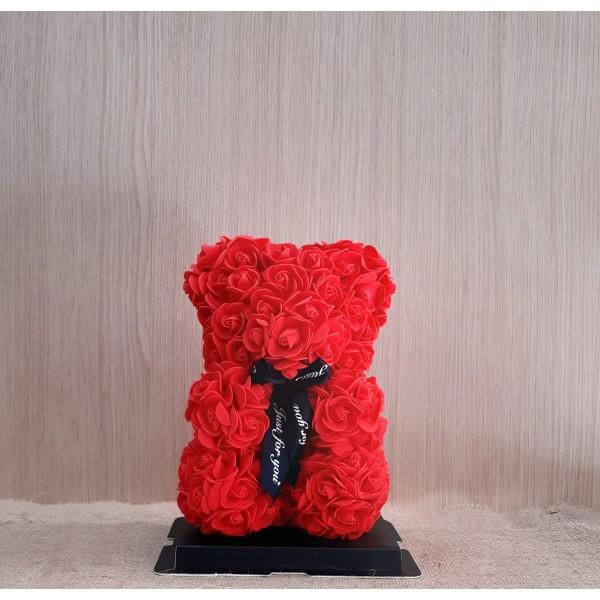 Μικρό κόκκινο Rose Bear E-Shop