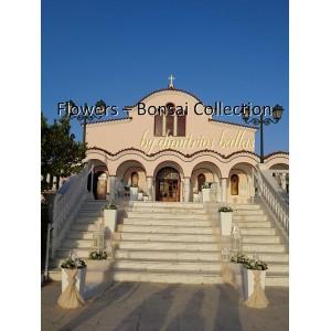 Στολισμός γάμου στον Άγιο Νικόλαο Γλυφάδας