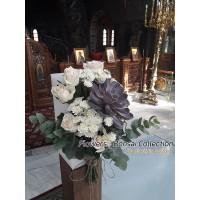 Στολισμος Εκκλησιας - Στολισμος γαμου με παχυφυτα - αγιος Σωστης Νεα Σμυρνη