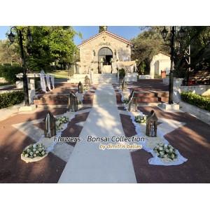 Στολισμος Εκκλησιας - Στολισμοί Γάμου - Αγία Δύναμη Σπάτα γάμος