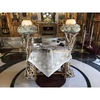 Στολισμος Εκκλησιας - Στολισμός γάμου με κορμούς Αγ. Σκέπη - Παπάγου Στολισμοί σε Εκκλησία