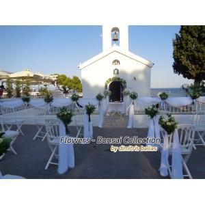 Στολισμος Εκκλησιας - Στολισμός γάμου Άγ. Ανδρέας - Νεα Μάκρη Στολισμοί σε Εκκλησία