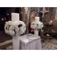 Στολισμος Εκκλησιας - Άγ. Δημήτριος - Λουμπαρδιάρης Στολισμός γάμου