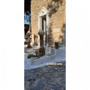 Στολισμος Εκκλησιας - Στολισμος γάμου με λεβαντα,σταχυ και γυψοφυλλη στον Αγιο Δημητριο Σαρωνικου
