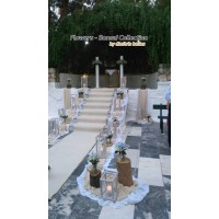 Στολισμος Εκκλησιας - Στολισμός γάμου με κορμούς Άγ. Φίλιππας - Νίκαια Στολισμοί σε Εκκλησία