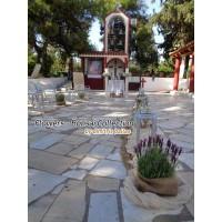Στολισμος Εκκλησιας -  Στολισμός γάμου με γλαστράκια λεβάντας και Vintage λεπτομέρειες Αγ. Γεώργιος Χαϊδάρι Στολισμοί σε Εκκλησία