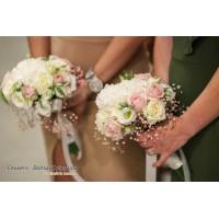 Στολισμος γαμου με αμφορεις & ορτανσιες στον αγιο κωνσταντινο γλυφαδας