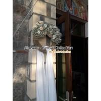 Στολισμος γαμου  - Στολισμος Εκκλησιας - Άγ. Απόστολοι Ακύλα & Πρίσκιλλα - Αίγινα Στολισμοί σε Εκκλησία