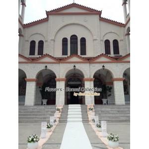 Στολισμος Εκκλησιας - Στολισμός γάμου στην Ευαγγελίστρια - Ναύπλιο Στολισμοί σε Εκκλησία