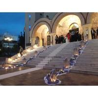 Στολισμος Εκκλησιας - Στολισμός γάμου Κοίμηση Θεοτόκου Ηλιούπολη