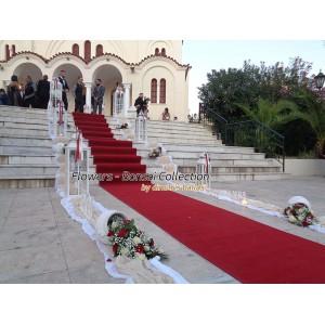 Στολισμος Εκκλησιας - Μεταμ. Σωτήρος - Καλλιθέα Στολισμοί γάμου  σε Εκκλησία