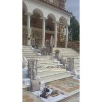 Στολισμος Εκκλησιας - Μεταμ. Σωτήρος - Μεταμόρφωση  -   Στολισμός γάμου rustik