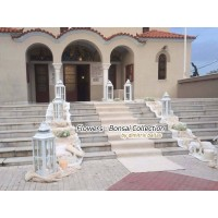 Στολισμος Εκκλησιας - Προφήτης Ηλίας Καστέλα -  Στολισμός γάμου