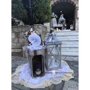 Στολισμος Εκκλησιας - Στολισμος γαμου με λεβαντα - Τιμιος Σταυρος Παπαγου